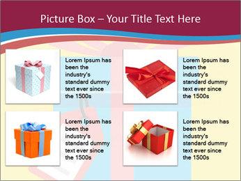 Gift Box Vector PowerPoint Templates - Slide 14
