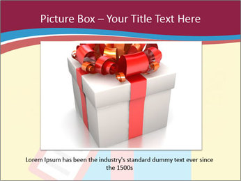 Gift Box Vector PowerPoint Template - Slide 15