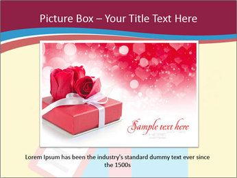 Gift Box Vector PowerPoint Template - Slide 16