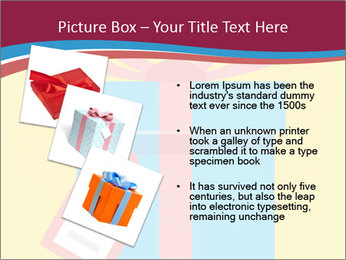 Gift Box Vector PowerPoint Template - Slide 17