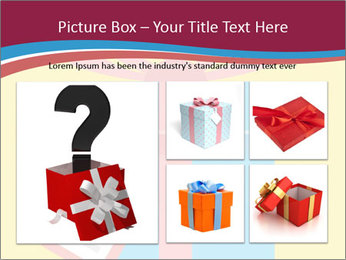 Gift Box Vector PowerPoint Template - Slide 19