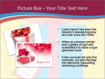 Gift Box Vector PowerPoint Templates - Slide 20