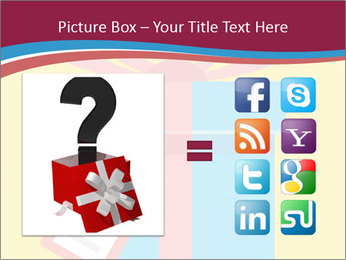Gift Box Vector PowerPoint Template - Slide 21