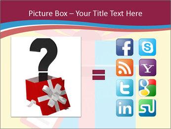 Gift Box Vector PowerPoint Templates - Slide 21