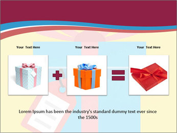 Gift Box Vector PowerPoint Template - Slide 22