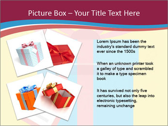 Gift Box Vector PowerPoint Template - Slide 23