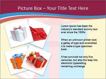 Gift Box Vector PowerPoint Templates - Slide 23