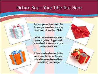Gift Box Vector PowerPoint Templates - Slide 24