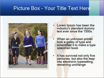 Woman Jumping With Rope PowerPoint Templates - Slide 13