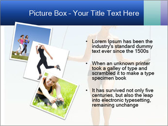 Woman Jumping With Rope PowerPoint Templates - Slide 17