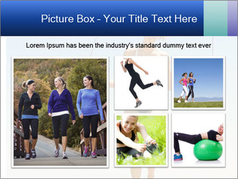 Woman Jumping With Rope PowerPoint Templates - Slide 19