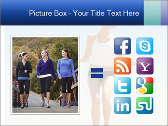 Woman Jumping With Rope PowerPoint Templates - Slide 21