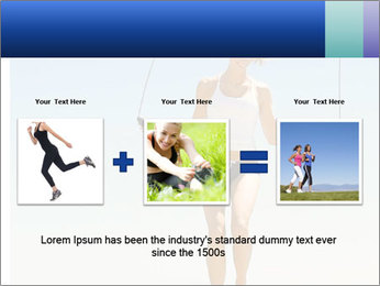 Woman Jumping With Rope PowerPoint Templates - Slide 22
