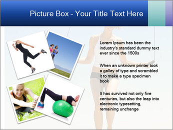 Woman Jumping With Rope PowerPoint Templates - Slide 23