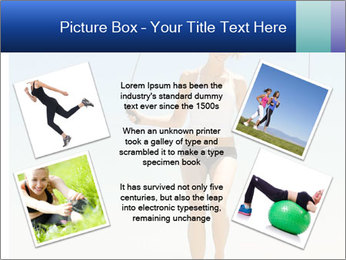 Woman Jumping With Rope PowerPoint Templates - Slide 24
