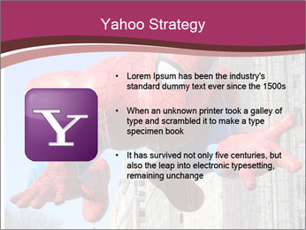 Spiderman At Parade PowerPoint Template - Slide 11