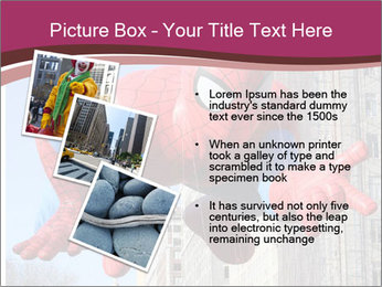 Spiderman At Parade PowerPoint Template - Slide 17