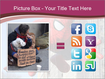 Spiderman At Parade PowerPoint Template - Slide 21