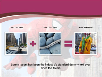 Spiderman At Parade PowerPoint Templates - Slide 22