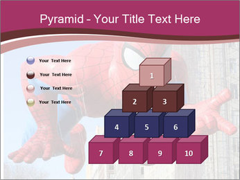 Spiderman At Parade PowerPoint Templates - Slide 31