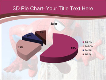 Spiderman At Parade PowerPoint Template - Slide 35