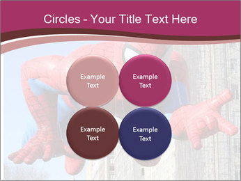 Spiderman At Parade PowerPoint Template - Slide 38