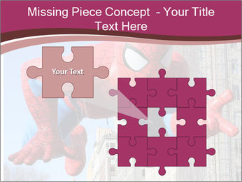 Spiderman At Parade PowerPoint Template - Slide 45