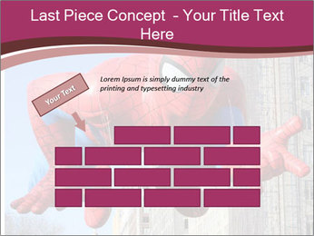 Spiderman At Parade PowerPoint Template - Slide 46