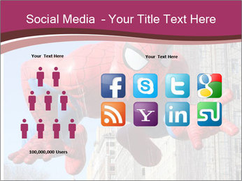 Spiderman At Parade PowerPoint Template - Slide 5