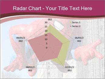 Spiderman At Parade PowerPoint Template - Slide 51