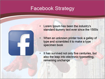Spiderman At Parade PowerPoint Template - Slide 6