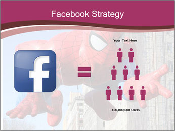 Spiderman At Parade PowerPoint Template - Slide 7