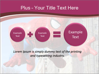 Spiderman At Parade PowerPoint Template - Slide 75