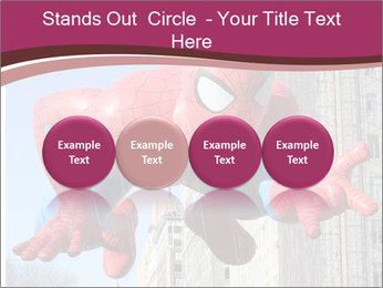 Spiderman At Parade PowerPoint Templates - Slide 76