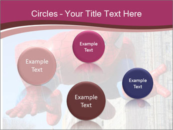 Spiderman At Parade PowerPoint Templates - Slide 77