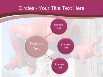 Spiderman At Parade PowerPoint Template - Slide 79