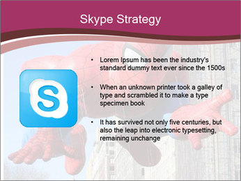 Spiderman At Parade PowerPoint Template - Slide 8