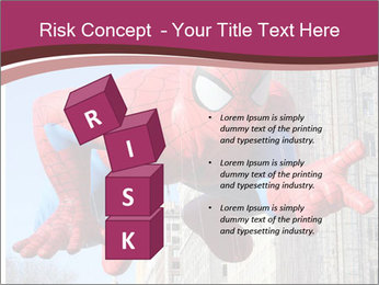 Spiderman At Parade PowerPoint Template - Slide 81