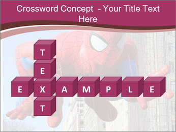 Spiderman At Parade PowerPoint Templates - Slide 82