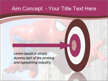 Spiderman At Parade PowerPoint Template - Slide 83