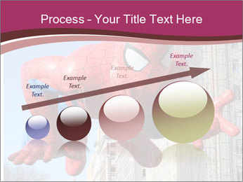Spiderman At Parade PowerPoint Template - Slide 87