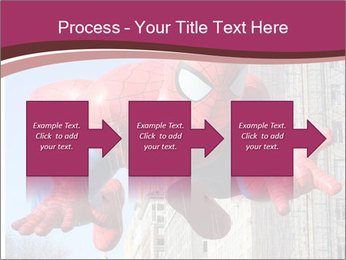 Spiderman At Parade PowerPoint Template - Slide 88