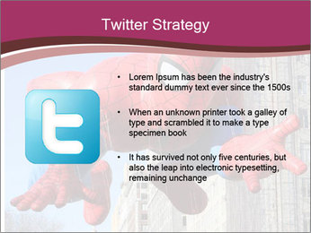 Spiderman At Parade PowerPoint Template - Slide 9