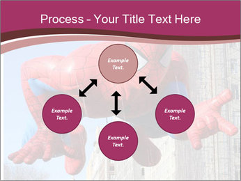 Spiderman At Parade PowerPoint Template - Slide 91