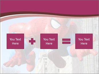 Spiderman At Parade PowerPoint Template - Slide 95