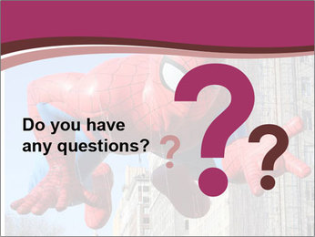Spiderman At Parade PowerPoint Template - Slide 96