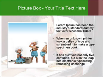 Father Feeding Child PowerPoint Template - Slide 13
