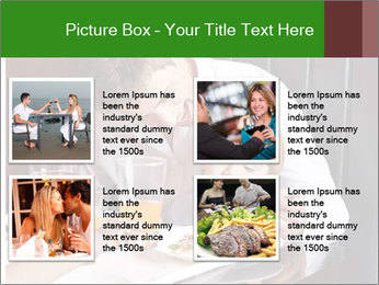 Father Feeding Child PowerPoint Template - Slide 14