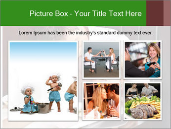 Father Feeding Child PowerPoint Template - Slide 19