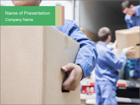 Unloading Process PowerPoint Template